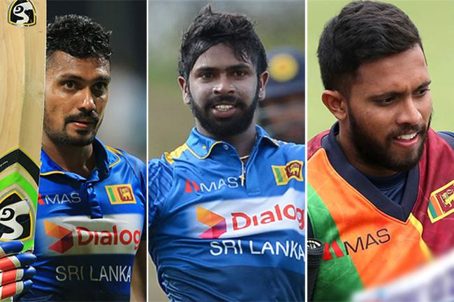 Gunathilaka, Mendis & Dickwella banned from international cricket for one year