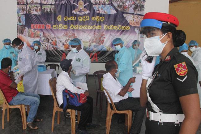 Sri Lanka Army launches 24-hour AstraZeneca vaccination drive