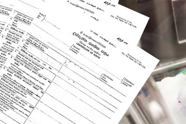 Birth, death, and marriage certificate copies issued online