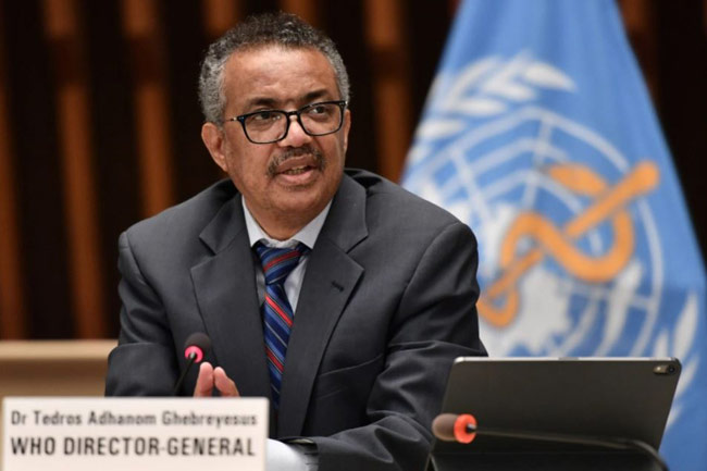 WHO Chief lauds Sri Lanka s inoculation drive in Twitter exchange with President