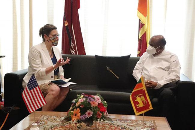 US will continue to support Sri Lanka's fight against Covid-19 - Ambassador