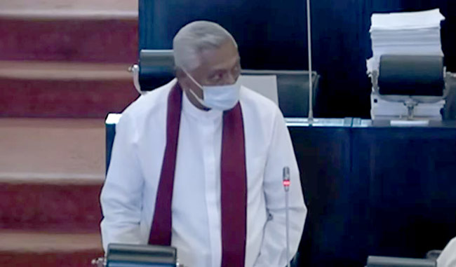 KNDU Bill not presented on Friday, Chamal says in parliament