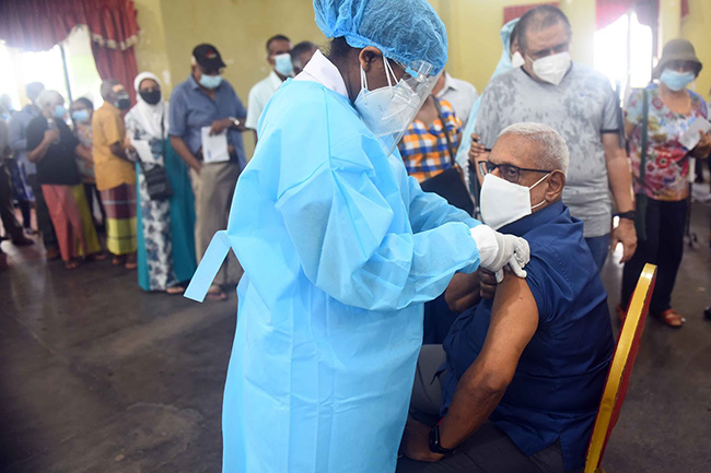 Five vaccine centres to roll out Sinopharm first dose for people above 60 years
