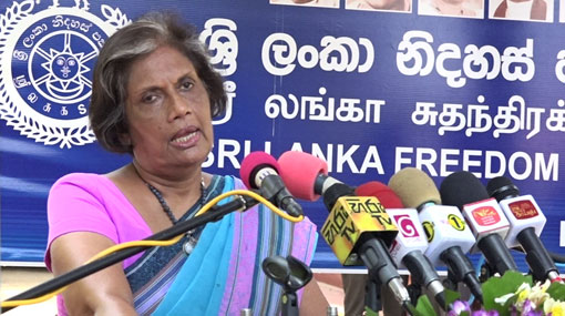 Stealing was main policy and philosophy of former govt - Chandrika