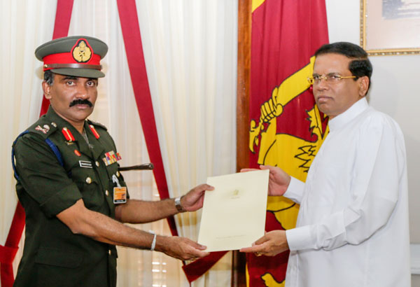 Chrishantha De Silva appointed new Army Commander