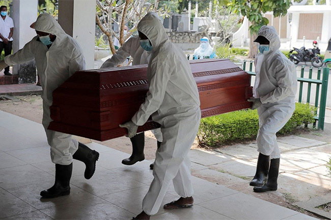 Sri Lanka moves up to 13th place in global COVID death rankings, just below US