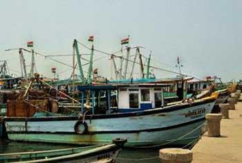 Protest seeking release of fishermen from Sri Lanka
