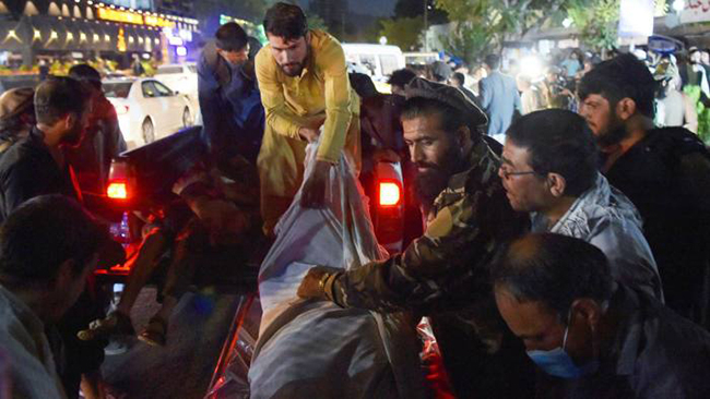 US Marines, Afghans killed in suicide bombings outside Kabul airport