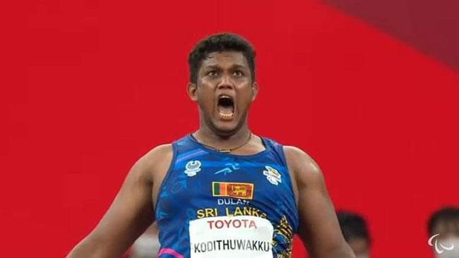 Another medal for Sri Lanka at Tokyo Paralympics as Dulan wins bronze