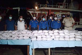 Navy seizes over 290kg of heroin...