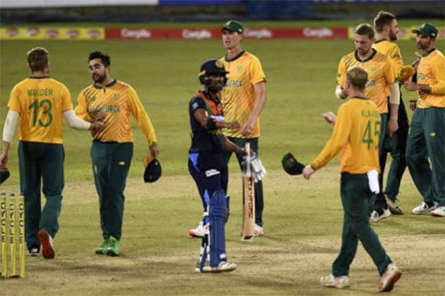 South Africa beat Sri Lanka in first T20 to take 1-0 series lead