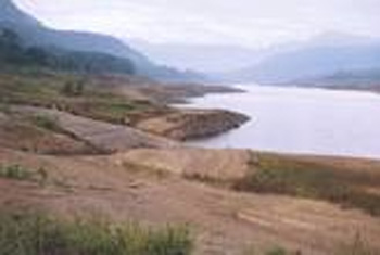 Water levels dangerously low at Kotmale