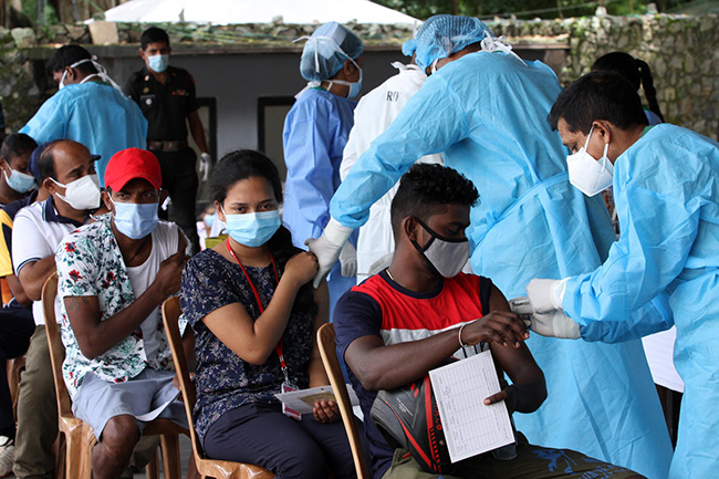 COVID vaccine centres run by Health Ministry today