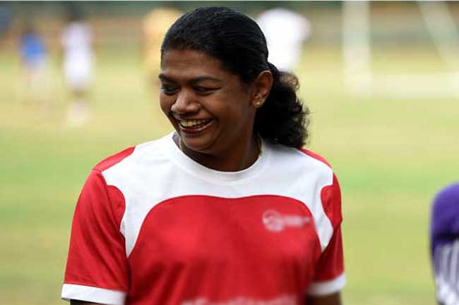 Susanthika Jayasinghe contracts COVID-19