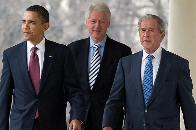 Ex-U.S. Presidents Bush, Clinton, Obama team up to aid Afghan refugees