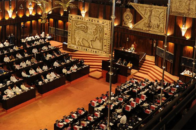 Next week's parliamentary sittings limited to two days
