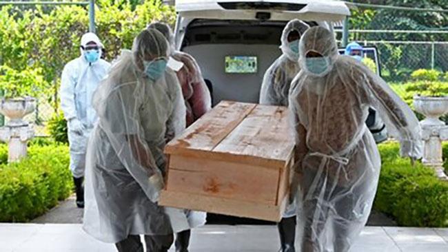 Sri Lanka reports another 121 coronavirus deaths