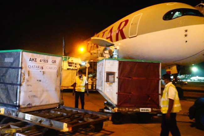 More Pfizer vaccines arrive in Sri Lanka