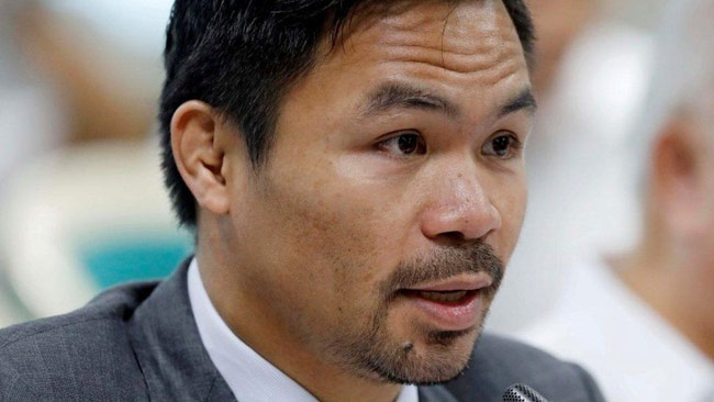 Boxing star Manny Pacquiao to run for Philippines president
