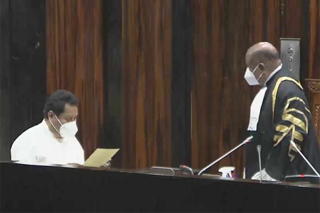 Jayantha Ketagoda sworn in again as Member of Parliament