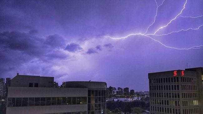 Weather advisory issued for severe lightning