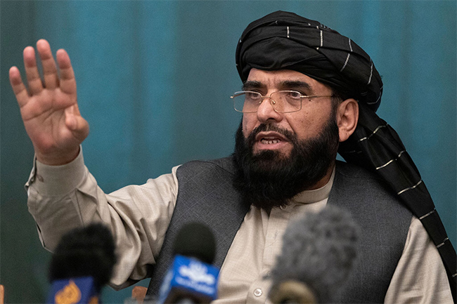Taliban name UN envoy, ask to speak at General Assembly
