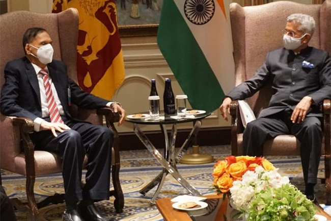 Sri Lankan, Indian foreign ministers hold comprehensive bilateral talks in NY