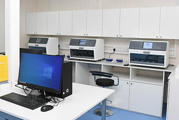 New rapid PCR test facility opened near BIA...