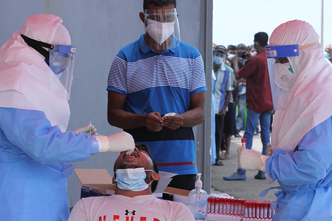 Coronavirus cases tally moves up with 782 new infections