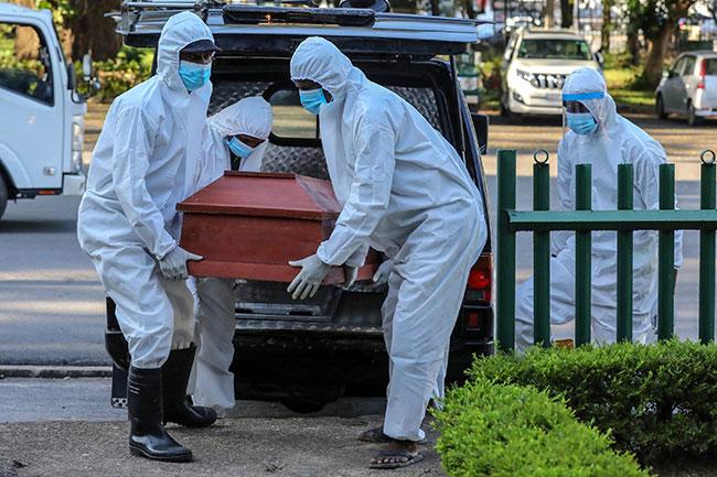 Sri Lanka confirms 51 new coronavirus deaths