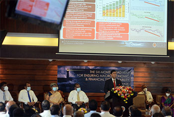 CBSL unveils six-month road map to revive economy...