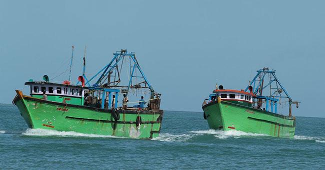 Navy arrests 23 Indian fishermen, seize 2 trawlers