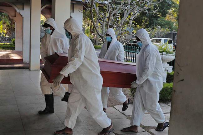 Sri Lanka records 21 more COVID-related fatalities