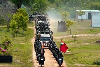 Sri Lanka-India joint military exercise 'Mitra Shakthi VIII'…