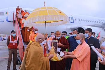Sri Lanka sends first flight to India's Kushinagar Airport…