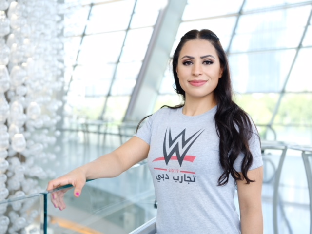 WWE signs first woman wrestler from Arab world in global push