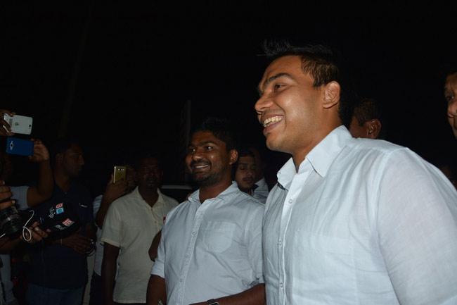 Namal, DV Chanaka, Ranaweera and 3 others arrested