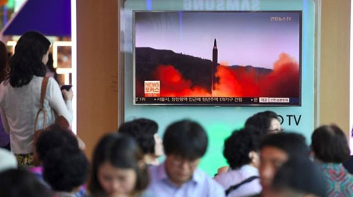 North Korea fires second ballistic missile over Japan