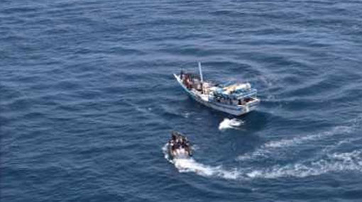 Sri Lankan fishermen rescue crew of Indian sailing vessel