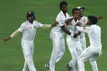 Sri Lanka moves up in ICC test rankings